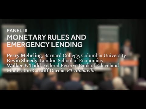 Monetary Rules for a Post-Crisis World: Panel III