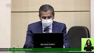 Presidente destaca seriedade do Parlamento no processo de impeachment