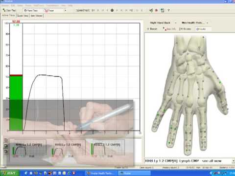 Avatar EAV Health Testing System - the basic test.