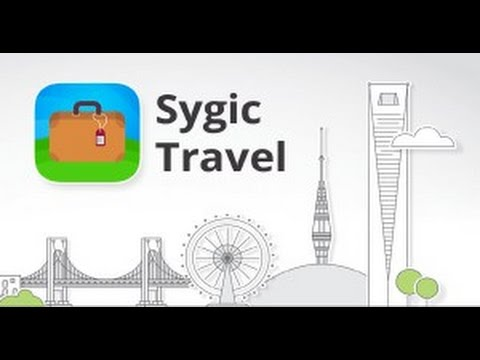 sygic travel app trip planner city guide youtube
