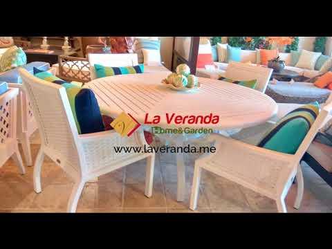 Outdoor furniture, landscape design, grills, pergola, shading, La Veranda, Dubai