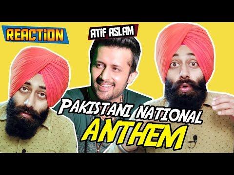 Pakistani National Anthem (Qaumi Tarana) ft. Atif Aslam | Reaction #158