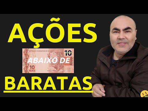5 AÇÕES TOP E BARATAS - COTAÇÃO ABAIXO DE R$ 10,00 – TOP 5 AÇÕES DESCONTADAS para INVESTIR EM 2020