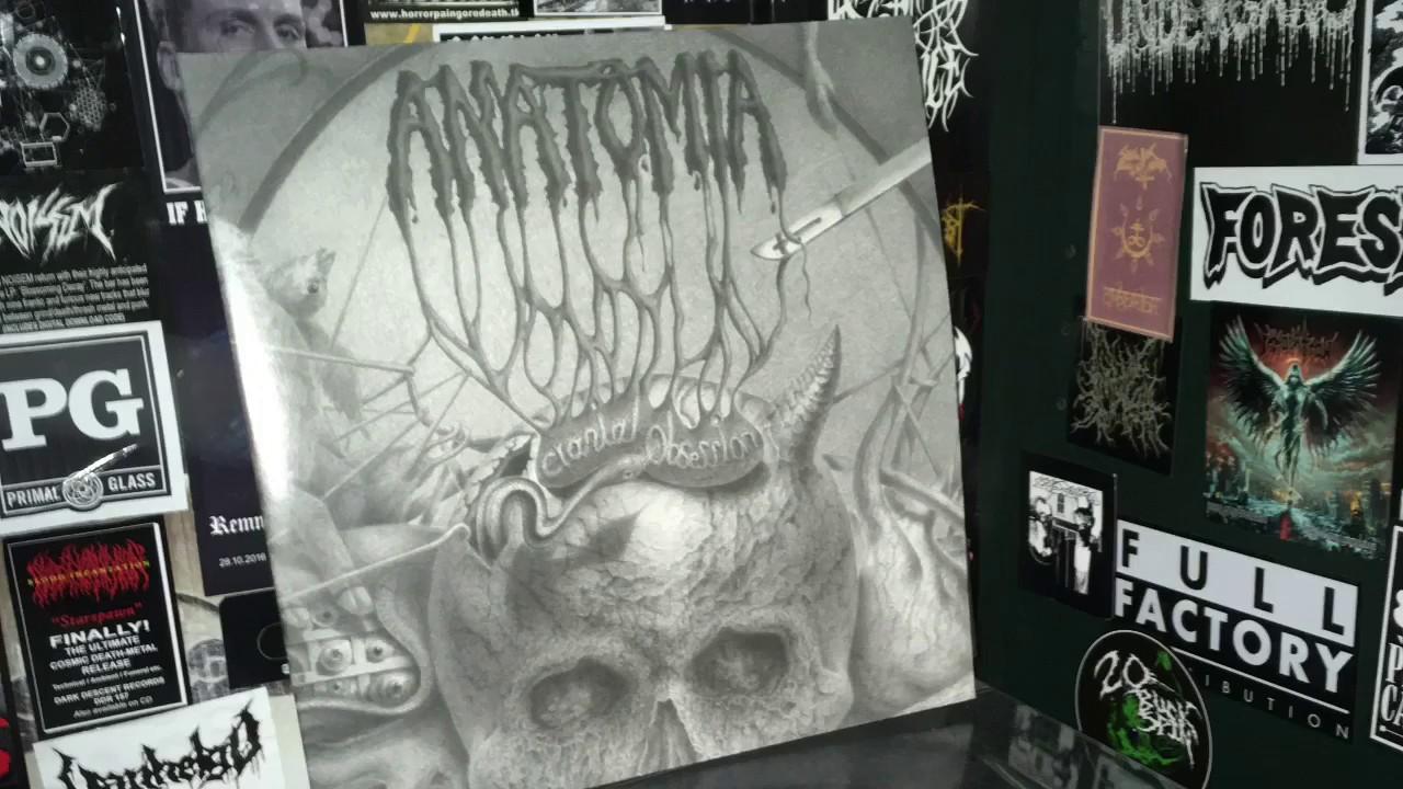 Vital Vinyl Vlog: Anatomia-Cranial Obsession - YouTube