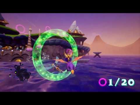 Spyro - Circuit marin - Orbe ( ocean speedway - Orb)