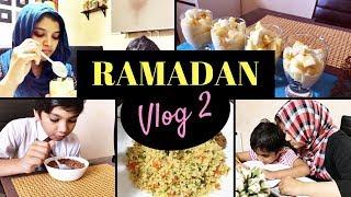 Ramadan Vlog 2/Kheema masala/Couscous recipe/Mango yoghurt parfait/Watermelon juice