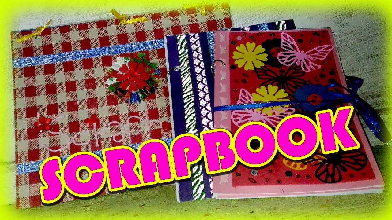 Diy Scrapbook Cover Ideas Youtube