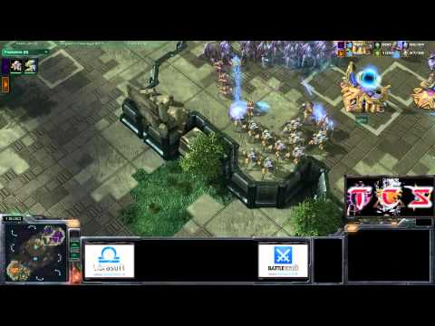 TCS #112: [PvP] DanAKtion vs geko - StarCraft 2 ita