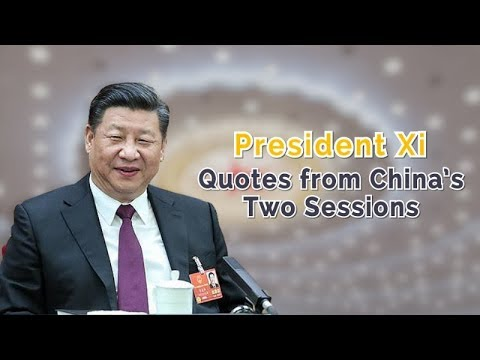 Xi's messages to Chinese legislators, political advisers