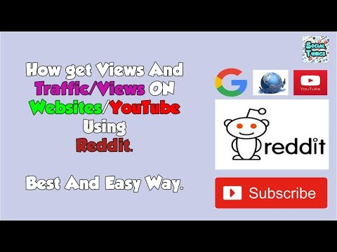 How to Get Views on Website/YouTube videos Using Reddit.(Urdu/Hindi)