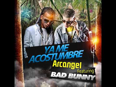 Me acostumbre Arcangel feat. bad bunny (CLEAN AUDIO)