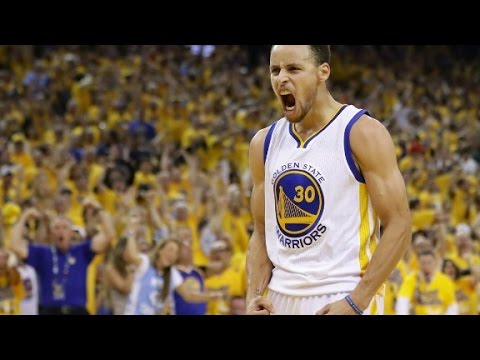 Steph Curry takes aim at Trump - YouTube