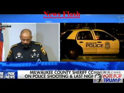 Sheriff David Clarke Comments on Milwaukee Violence - CPOAU News Flash