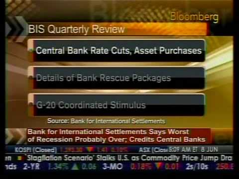 Worst Of Recession Likely Over – BIS – Bloomberg