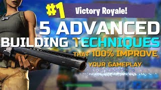 5 ADVANCED Building TIPS that ONLY PRO Players are USING in Fortnite to WIN!