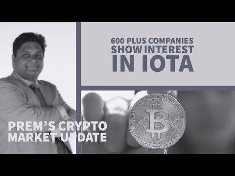 600 plus companies show interest in IOTA