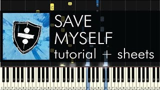 Ed Sheeran Save Myself Advanced Piano Tutorial + Sheets