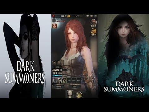Dark Summoners - CBT Gameplay Vs Dowload Link Android New RPG Mobile Games 2019