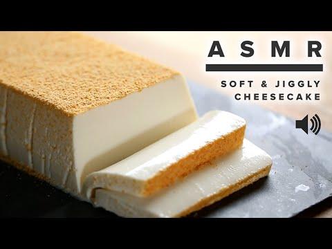 ASMR Baking: Soft & Jiggly Cheesecake • Tasty