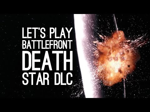 Battlefront Death Star DLC Gameplay: Let's Play Battlefront Death Star DLC (GO GO ARTOO GO GO)