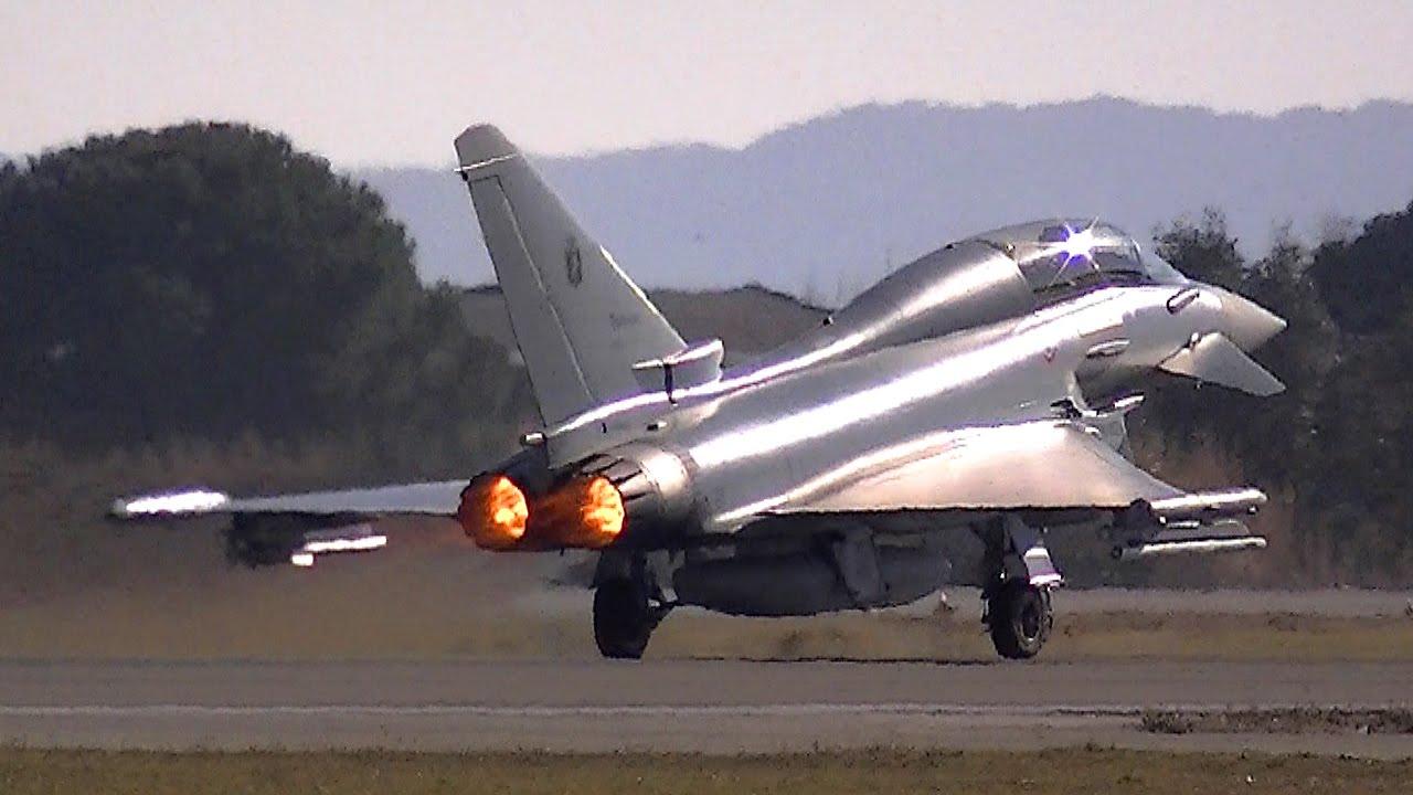 Aereo Da Caccia Efa : Eurofighter typhoon iv stormo caccia grosseto youtube