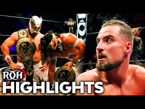 MexaSquad SHOCKS Villain Enterprises for Six-Man Title Win! ROH Highlights Jan 24, 2020
