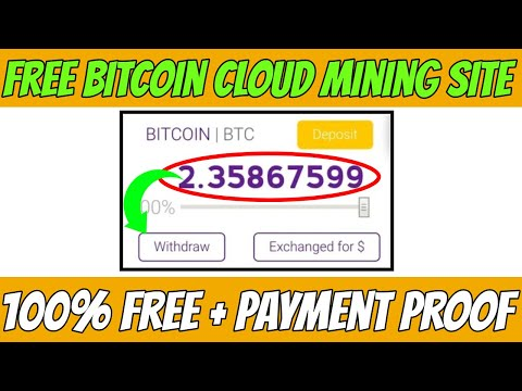 Old Free Bitcoin Mining Website 2020 || New Free Cloud Mining Website ||100% Free With Payment Proof