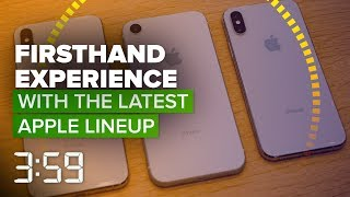 Our firsthand impressions of the iPhone XS, XR, Max and Apple Watch (The 3:59, Ep. 458)