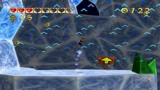 Pandemonium! (PC) walkthrough - Frozen Cavern