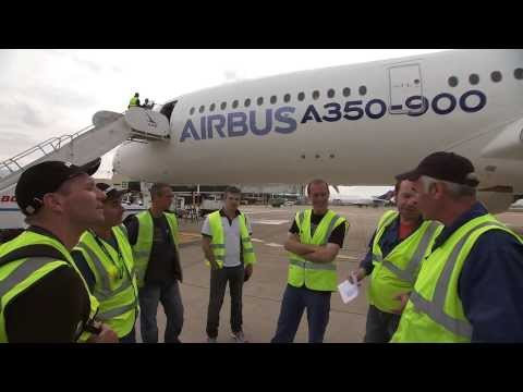 Flight test engineers and the A350 XWB