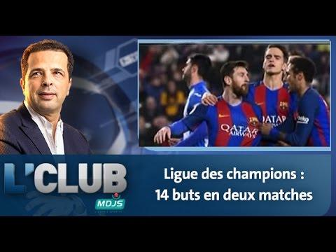 L'CLUB: Ligue des champions : 14 buts en deux matches