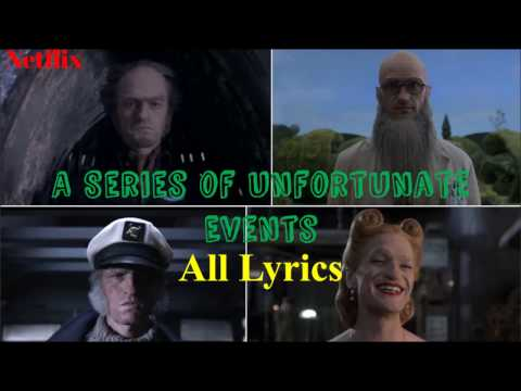 "Ultimate Lyrics for all ""Look Away"" Intros in A Series of Unfortunate Events"