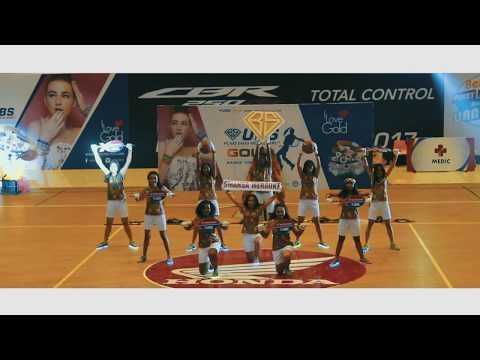 HONDA DBL PUPUA SERIES 2017 - SMA NEGERI 1 MERAUKE OFFICIAL DANCE  #JUARA 2