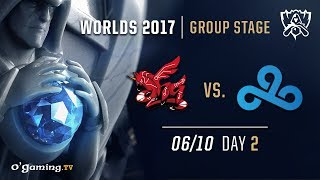 ahq vs Cloud9 - World Championship 2017 - Group Stage - Day 2 - League of Legends