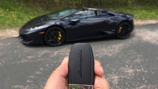 Lamborghini Huracan LP610-4 Spyder 2017 Videos