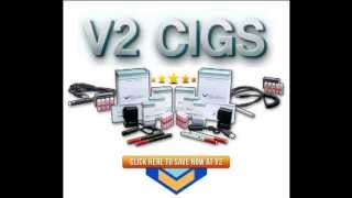 v2 cigs vs blu electronic cigarettes best review starter kits