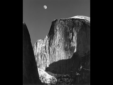 ansel-adams:-making-of-moon-and-half-dome
