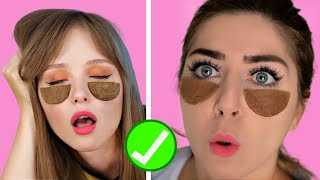 ✅TRUCCHI GENIALI per ESSERE sempre TOP | 123 GO hacks test e reaction Senza Trucco #beautyhacks