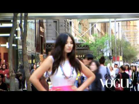 Jessica Gomes and Fashion's Night Out.