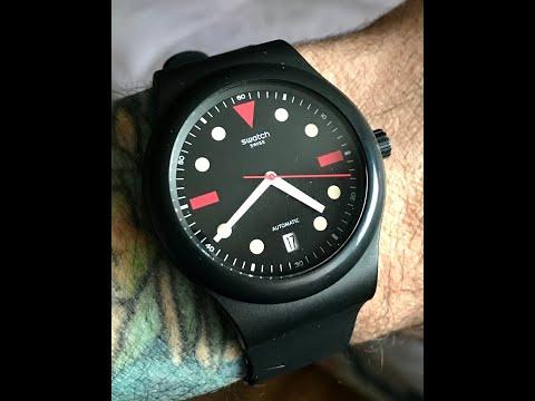 First Look - Hodinkee Swatch Sistem51