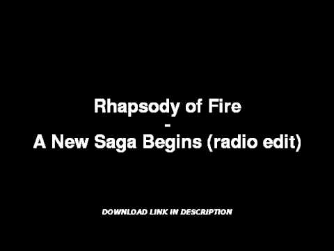 Rhapsody of Fire  A New Saga Begins radio edit W MP3 DOWNLOAD