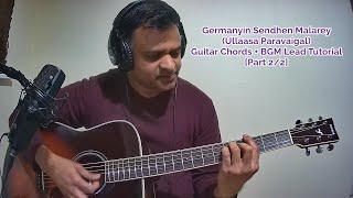 Germanyin Sendhen Malarey Ullaasa Paravaigal Guitar Chords  BGM Lead Tutorials Part 22