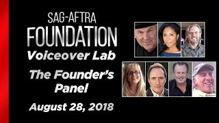 Voiceover Lab: The Founder's Panel