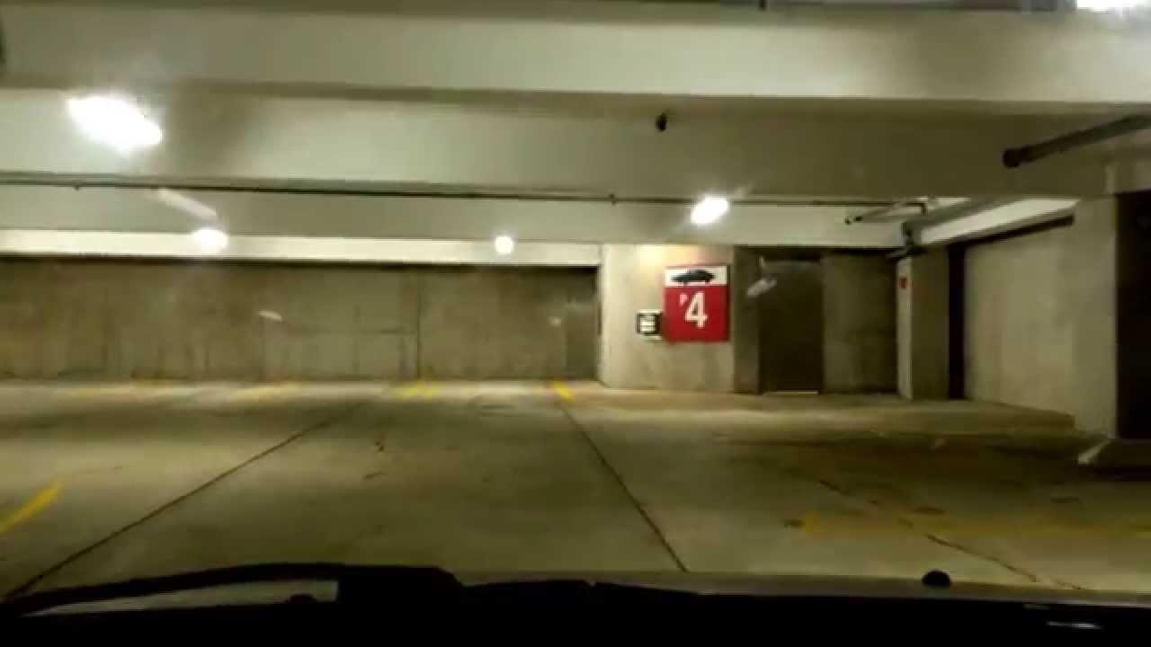 Garage Parking Stop >> Tour of the Library Lane underground parking garage in Ann ...