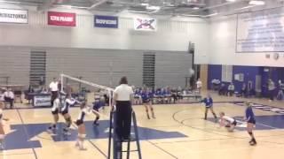Alexa C. 2012 H.S. Volleyball