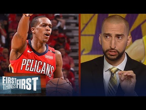 Nick Wright believes Rajon Rondo will be a great mentor for Lonzo Ball   NBA   FIRST THINGS FIRST