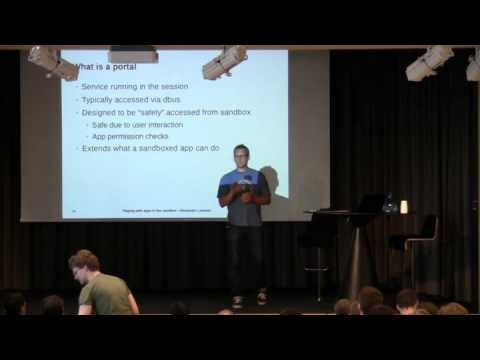 GUADEC 2015: Playing with apps in the sandbox