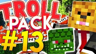 PRANKING THECAMPINGRUSHER - Minecraft TROLL PACK #13