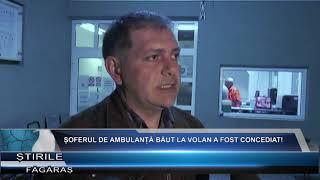 Soferul de ambulanta baut la volan a fost concediat