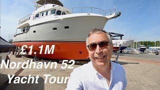 £1.1M Yacht Tour : 2016 Nordhavn 52